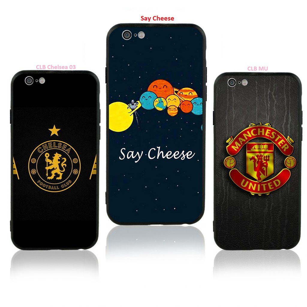 ỐP IPHONE - Ốp LƯNG - M107 Clb Chelsea 03 - Say Cheese - CLB MU